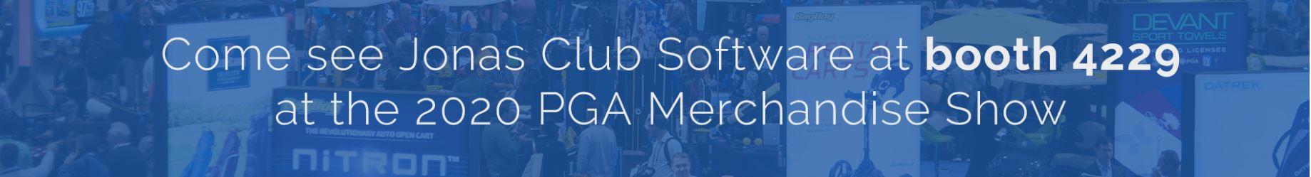 Jonas PGA Merchandise Show header