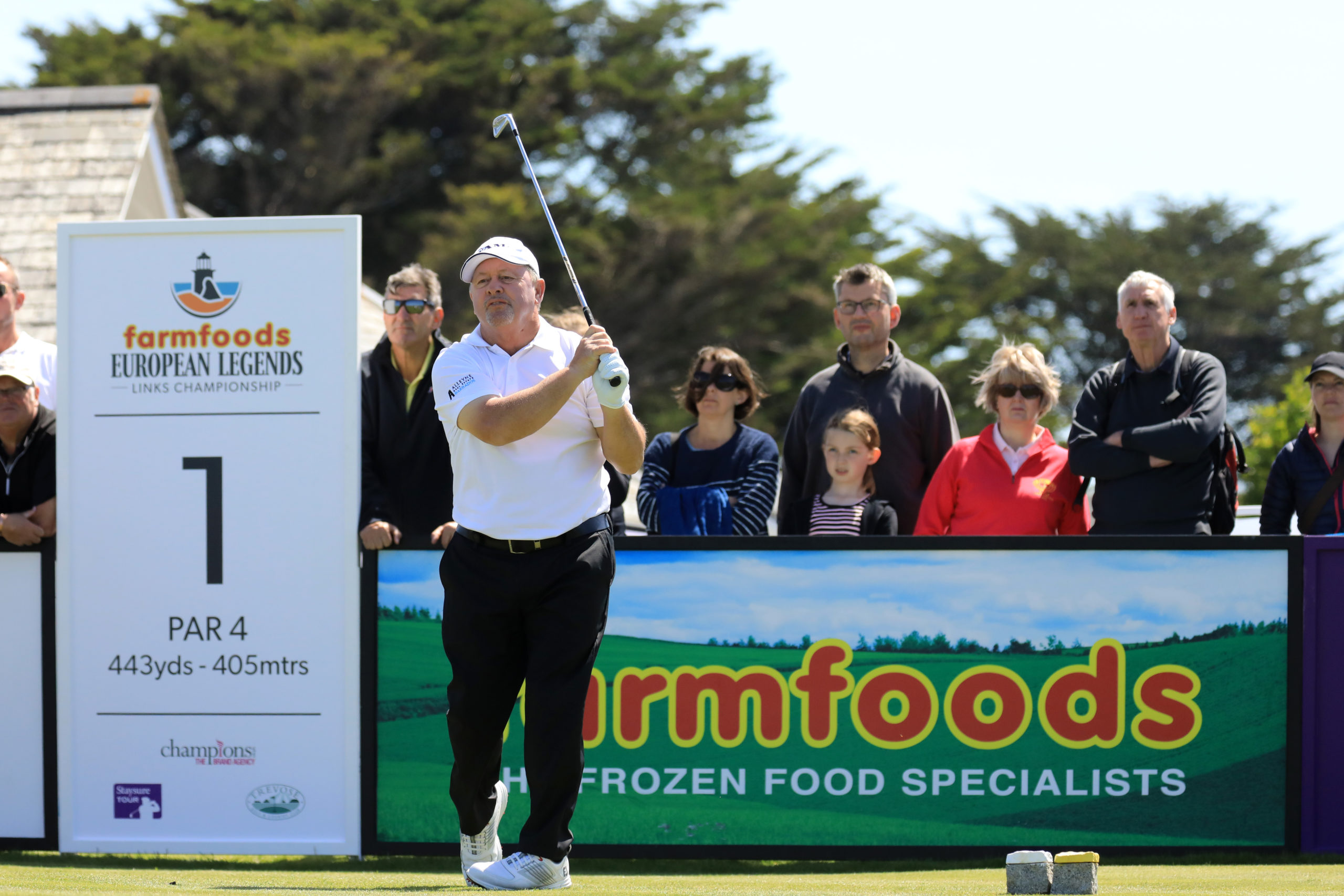 2019 Farmfoods European Legends Links Championship – Day Two