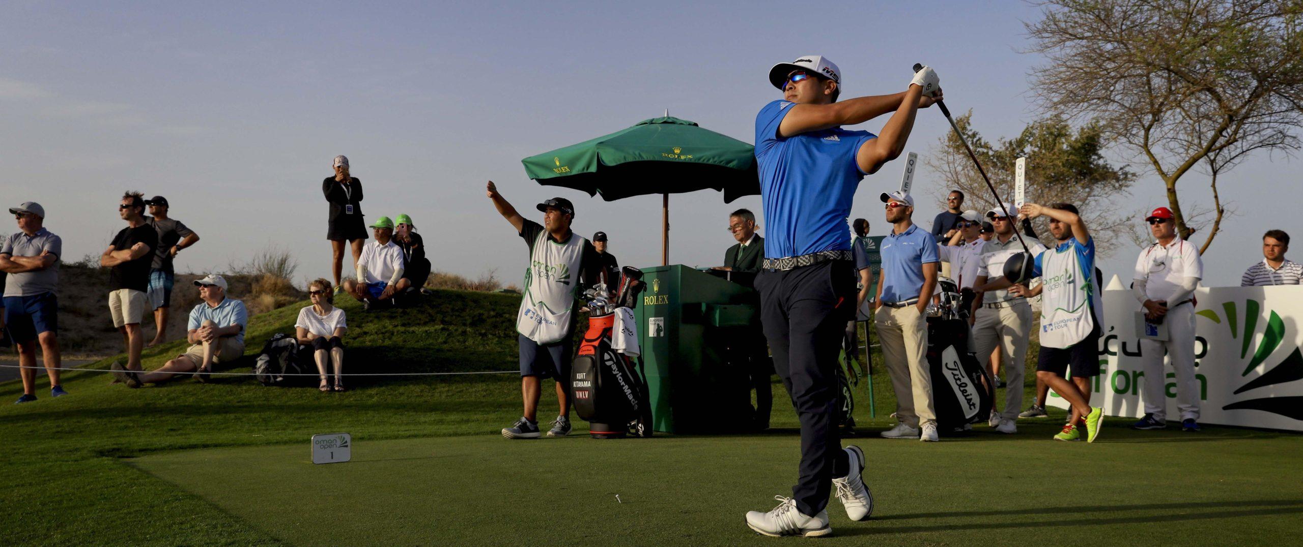 Kurt cropKitayama 2019 Winner Oman Open