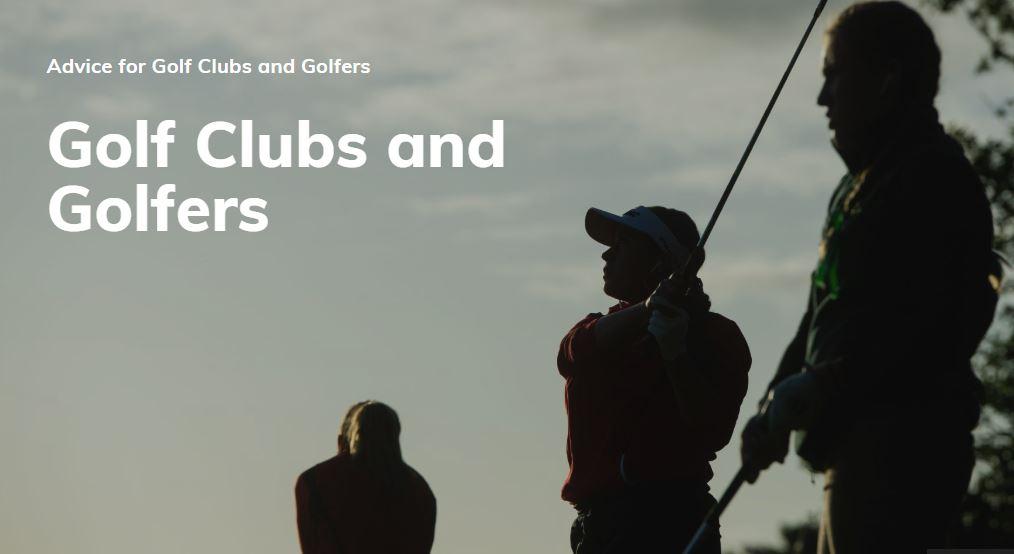 England Golf Advice header