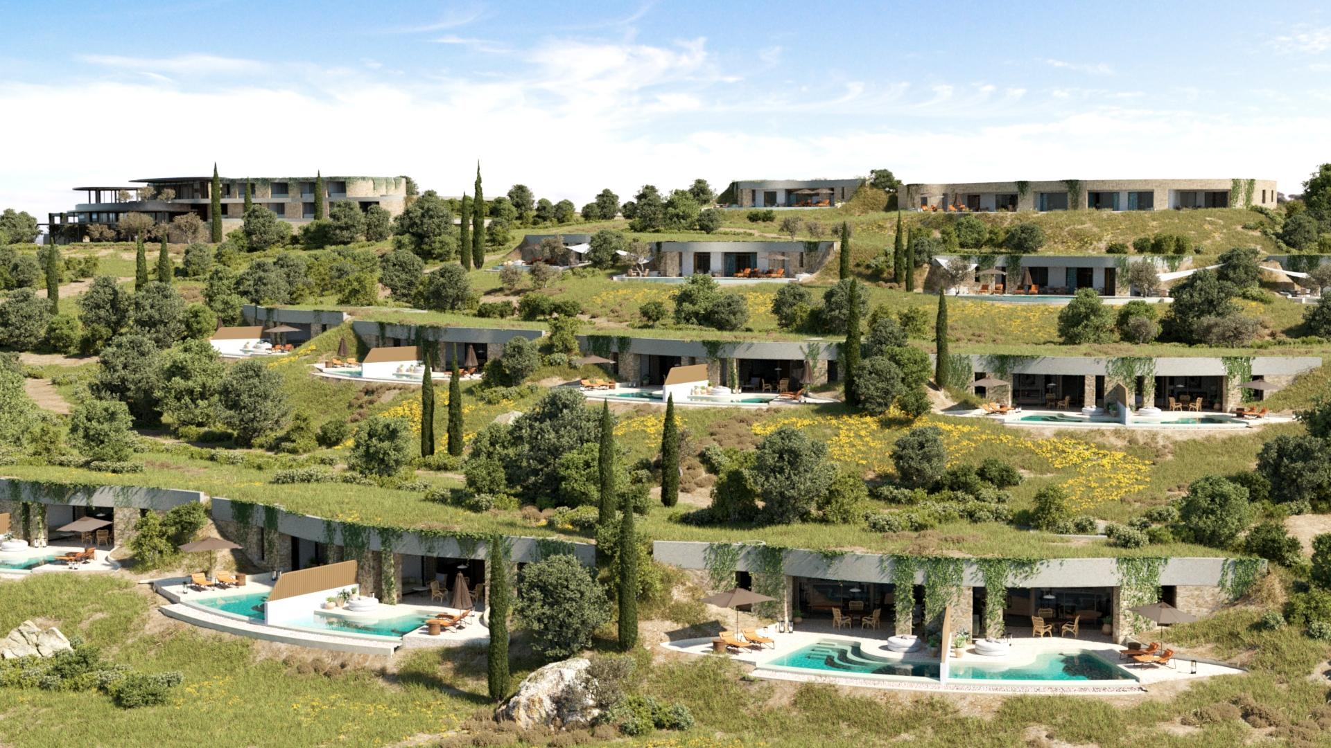 Navarino Bay_Earth sheltered villas