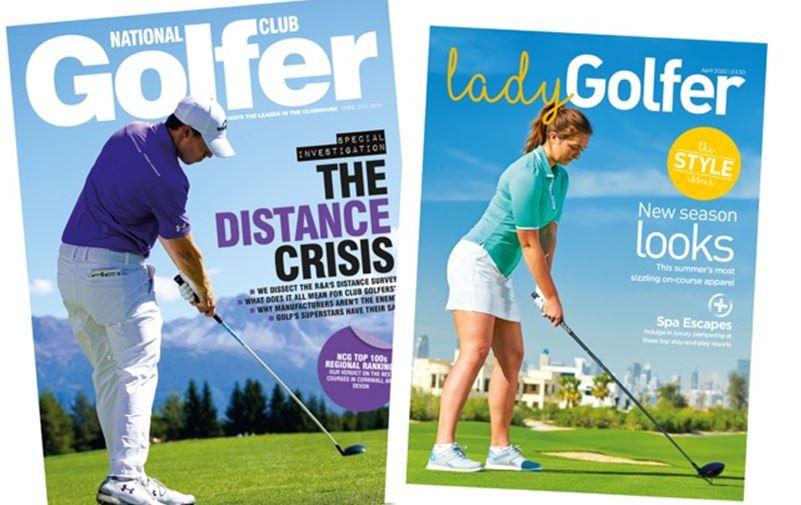 Nat Club Golfer and Lady Golfer