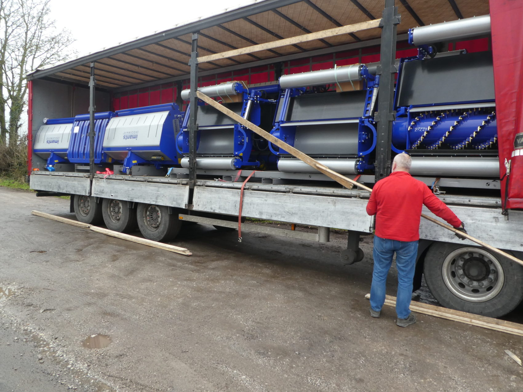 Imants delivery to Campeys