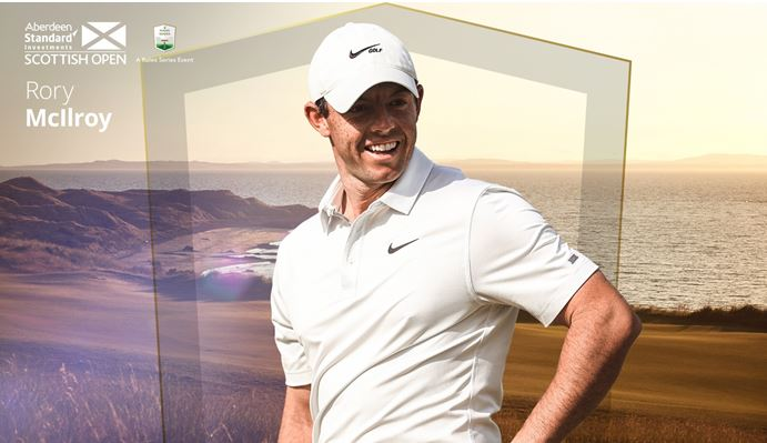 Rory McIlroy Scottish Open Getty Images