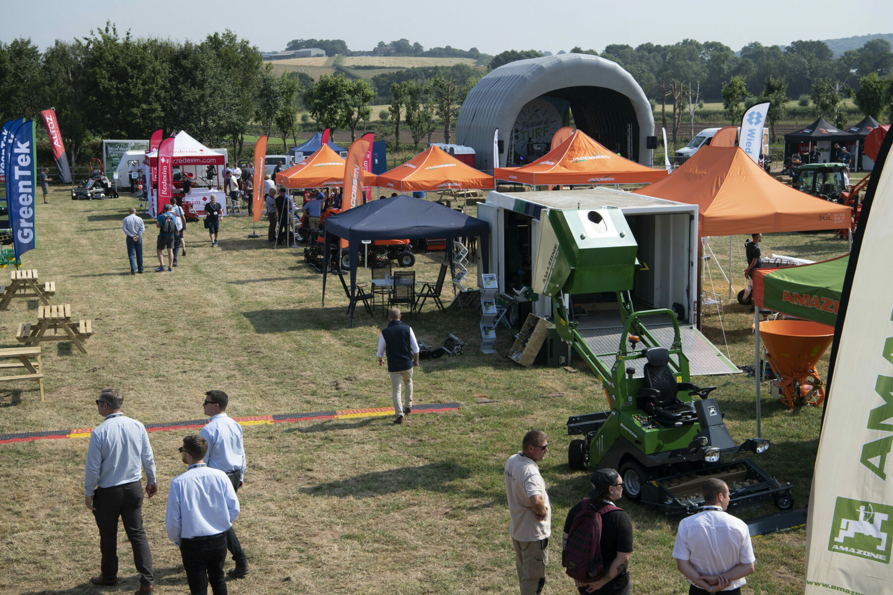 Festival of Turf was hosted at the Warwickshire Event Centre
