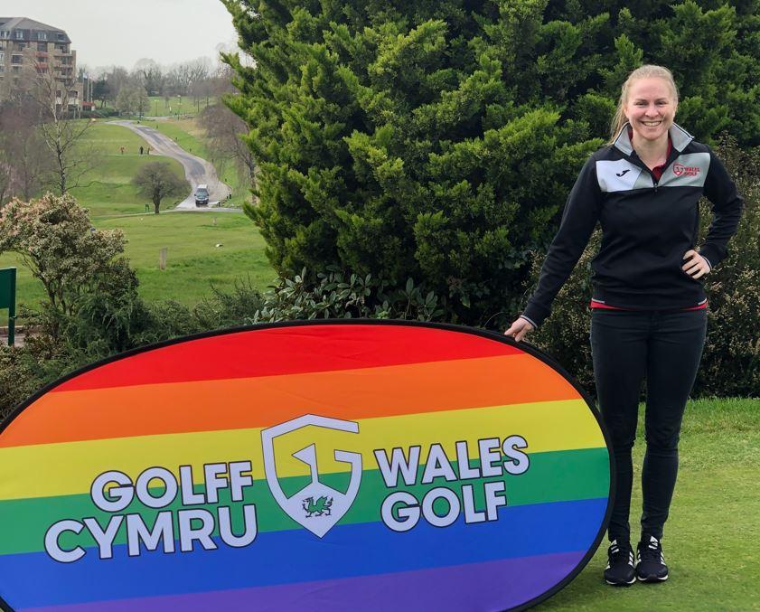 Zoe Thacker Wales Golf