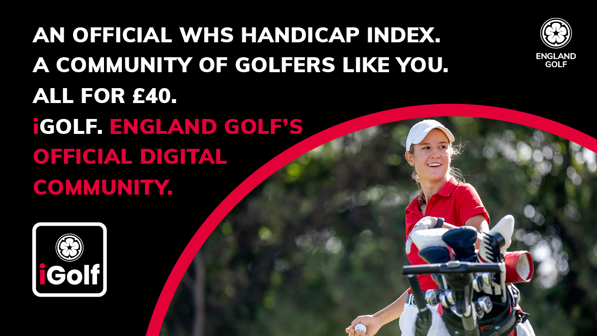 iGolf is for non-club golfers offering them an official WHS handicap index for just £40 a year
