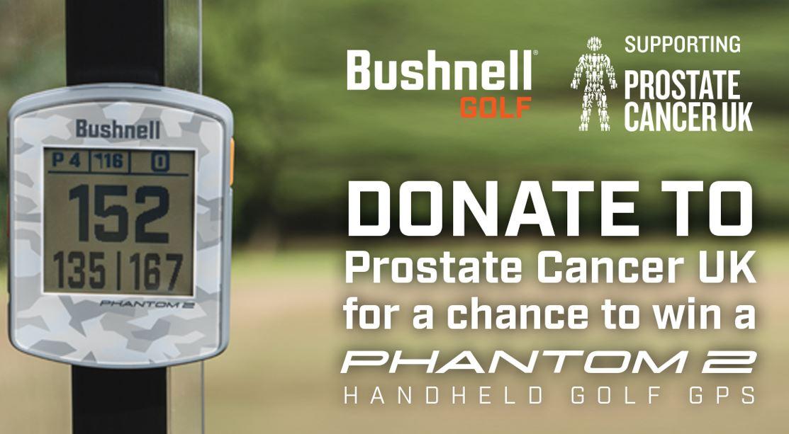 Bushnell Prostate Cancer banner