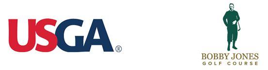 USGA Bobby Jones Golf Course logos combined.